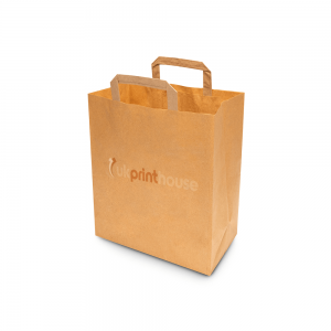 Extra Large Brown SOS Paper Bag with Logo Printed